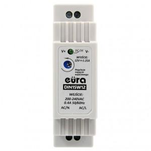 Akcesoria do wideodomofonów i do DIN15W12 - ZASILACZ DIN