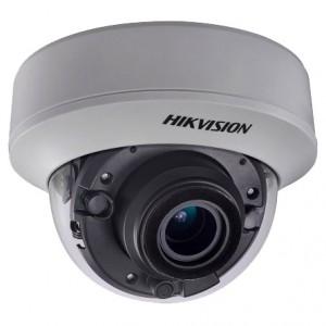 Systemy monitoringu DS-2CE56F7T-ITZ - KAMERA KOPUŁKOWA TURBO HD HIKVISION DS-2CE56F7T-ITZ 2,8-12mm 3 Mpx 1536P Przetwornik CMOS - Podgląd zdjęcia nr 1