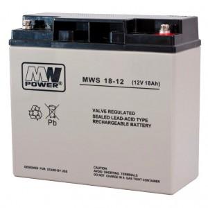 Systemy alarmowe MW 18-12 - AKUMULATOR