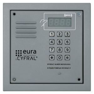 Domofony PC-2000RE srebrny - PANEL CYFROWY