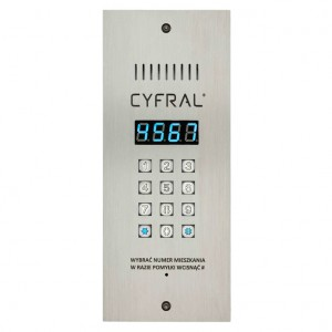 Domofony PC-3000RE - PANEL CYFROWY