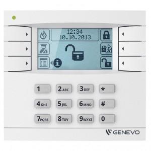 Systemy alarmowe PRiMA 6 LCD - MANIPULATOR GRAFICZNY LCD