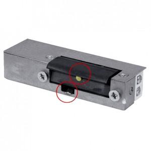 Akcesoria do wideodomofonów i do RE-24G2 - RYGIEL ELEKTROMAGNETYCZNY (ELEKTROZACZEP) RE-24G2 Asymetryczny Z Pamięcią I Wyłącznikiem 12V AC/DC - Podgląd zdjęcia nr 1