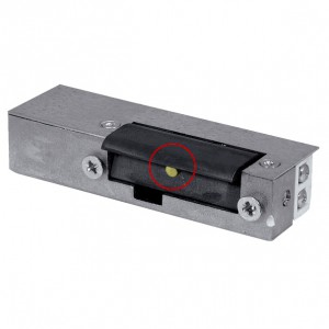 Akcesoria do wideodomofonów i do RE-25G2 - RYGIEL ELEKTROMAGNETYCZNY (ELEKTROZACZEP) RE-25G2 Asymetryczny Z Pamięcią 12V AC/DC - Podgląd zdjęcia nr 1
