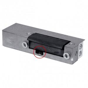 Akcesoria do wideodomofonów i do RE-27G2 - RYGIEL ELEKTROMAGNETYCZNY (ELEKTROZACZEP) RE-27G2 Asymetryczny Z Wyłącznikiem 12V AC/DC - Podgląd zdjęcia nr 1
