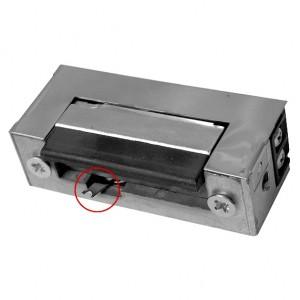 Akcesoria do wideodomofonów i do RE-31G2 - RYGIEL ELEKTROMAGNETYCZNY (ELEKTROZACZEP) RE-31G2 Symetryczny Z Wyłącznikiem 12V AC/DC - Podgląd zdjęcia nr 1